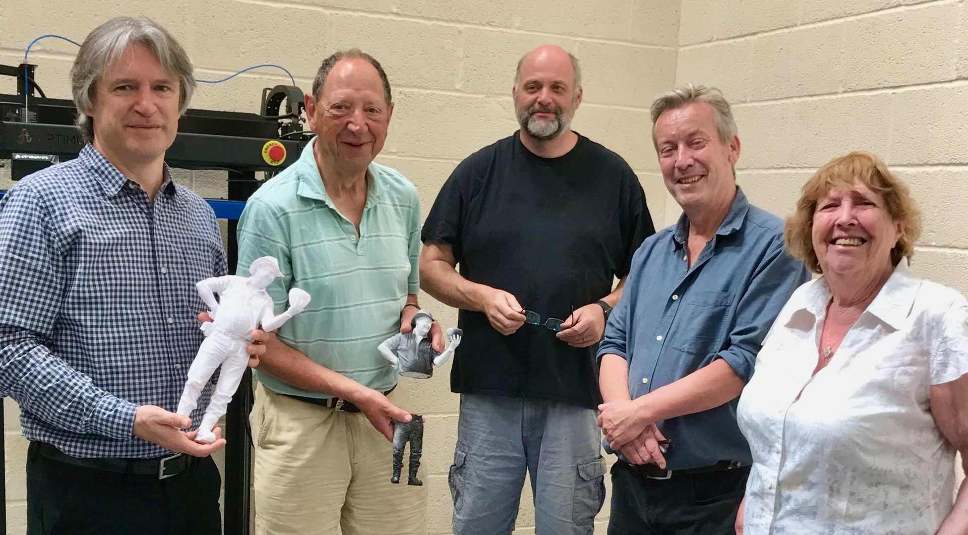 Members of the Hidden Figures project team